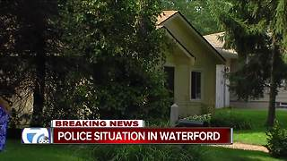 Police situation in Waterford - Video