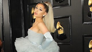 Ariana Grande Promoting New Fragrance With Animated Film