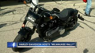 Harley-Davidson's annual Milwaukee Rally showcases company, city - Video