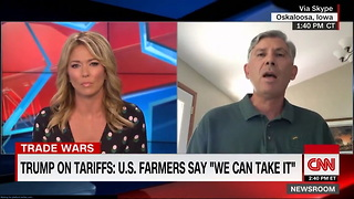 CNN Anchor Asks Same Question 3 Times, Farmer Knows Exactly How to Answer - Video