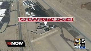 Pilot released from hospital following jet crash in Lake Havasu - Video