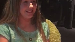 This Girl's Ultimate Birthday Wish Finally Came True - Video