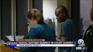 Boynton Beach sexual battery suspect held without bond - Video