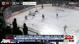 Bakersfield Condors 'Star Wars' game replay tomorrow on 23ABC