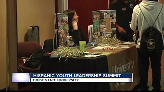 Hispanic Youth Leadership Summit Monday at Boise State - Video