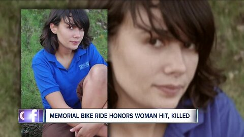 Memorial ride held for Yale grad struck, killed 10 years ago while riding bike in Cleveland