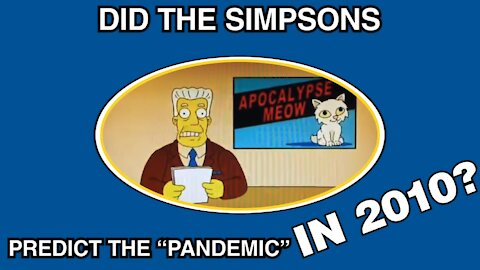 """Did the Simpsons predict the """"pandemic"""" in 2010?"""