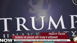 $25M settlement reached in Trump University suit - Video