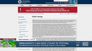 Government working to provide healthcare regardless of immigration status