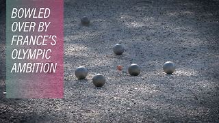 Vive la Pétanque! France's special Olympic game - Video