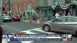 Midnight Madness is back at Old Ellicott City - Video