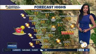 10News Pinpoint Weather for Sat. Aug. 18, 2018 - Video