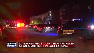 Michigan State University student shot, killed in East Lansing