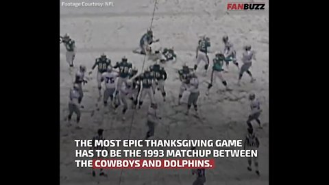The Epic 1993 Thanksgiving Cowboys-Dolphins Game: 5 Obscure Facts