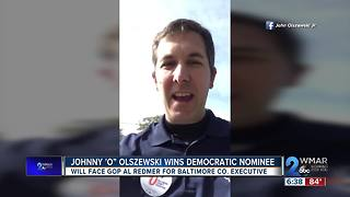 Johnny O wins democratic nominee - Video