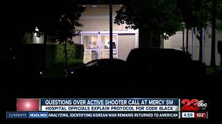Questions remain regarding active shooter call at Mercy Southwest
