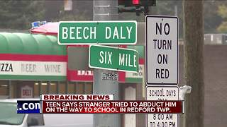 Suspect wanted for attempted abduction of metro Detroit student - Video