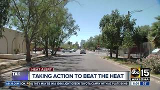 Valley communities taking action to help communities with heat