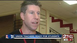 Union teachers hold School Kickoff - Video