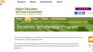 How does the NYS Excelsior Scholarship work? - Video