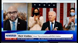 Newsmax TV: Media covers for Biden, Lou Dobbs is an O.G.