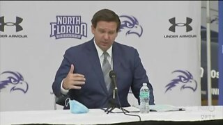 Governor DeSantis hopes for sports to return to schools