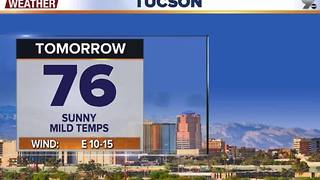 Chief Meteorologist Erin Christiansen's KGUN 9 Forecast Thursday, November 24, 2016 - Video