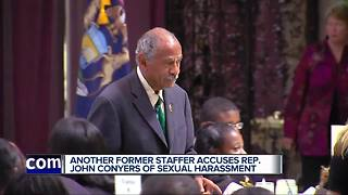 Another former staffer accuses Rep. John Conyers of sexual harassment - Video