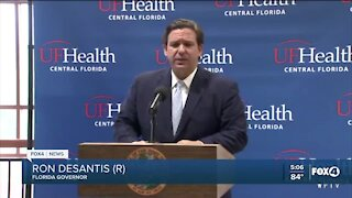 Governor Desantis COVID-19 update