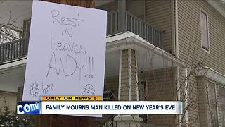 Family mourns 18-year-old man killed on New Year's Eve - Video