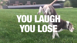 We Couldn't Pass This Laughing Challenge - Video