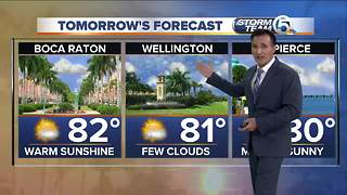 Friday evening weathercast - Video