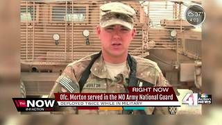 Fallen Clinton officer served in MO Army National Guard - Video