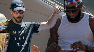 LeBron James & Steph Curry Starting INSANE NEW Fashion Trend! - Video