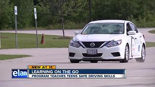 Ohio police department offers free advanced driver's ed class - Video