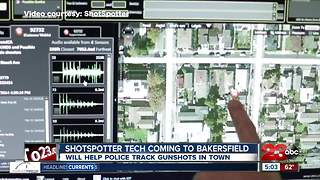 Shotspotter gun detection technology coming to Bakersfield - Video