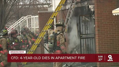 CFD: Four-year-old boy dies in West End apartment fire