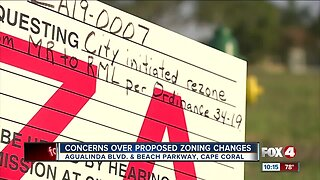 Public hearing on proposed housing development in Cape Coral