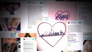 Vegas survivors stand strong via new ink | Rare Country - Video