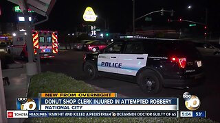 National City donut shop worker pistol-whipped during robbery