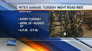 Pete's Garage: Tuesday night community bike rides