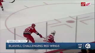 Blashill challenges Red Wings to maximize remaining opportunities
