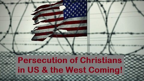 Persecution of Christians Coming - Domestic Terror Law & Big Tech Censorship [mirrored]