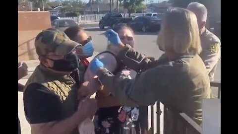 Straight Out Of Nazi Germany: California Gestapo Force Vaccinate Mentally Handicapped