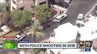Suspect hospitalized after officer-involved shooting in north Phoenix - Video