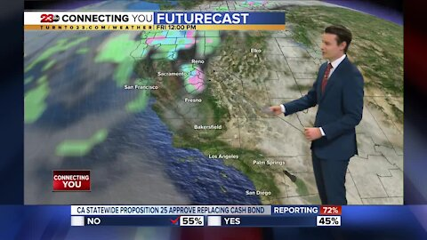 23ABC Evening weather update November 4, 2020