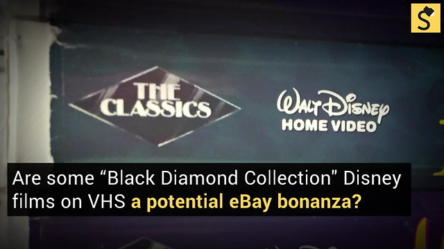 fact check are black diamond disney vhs tapes worth thousands of
