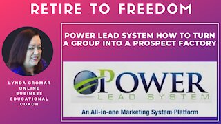 Power Lead System How To Turn A Group Into A Prospect Factory