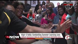 High-5 rally: Combating summer learning loss in Indianapolis - Video