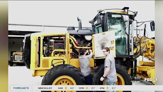 The Immokalee Foundation heavy equipment program sets students up for success